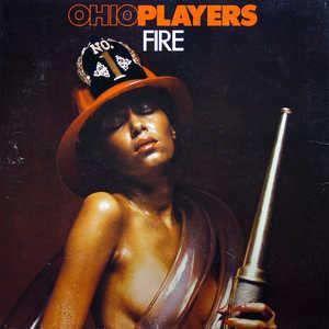 Front Cover Album Ohio Players - Fire