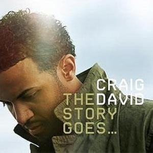 Album  Cover Craig David - The Story Goes on TEACUP Records from 2005