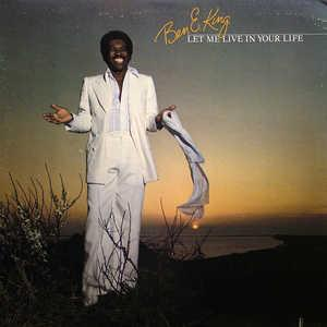 Front Cover Album Ben E. King - Let Me Live In Your Life