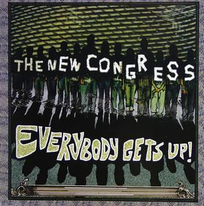 Front Cover Album The New Congress - Everybody Gets Up!