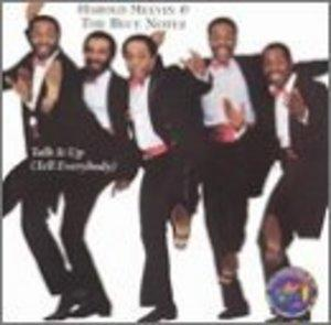 Album  Cover Harold Melvin & The Blue Notes - Talk It Up on PHILLY WORLD Records from 1984