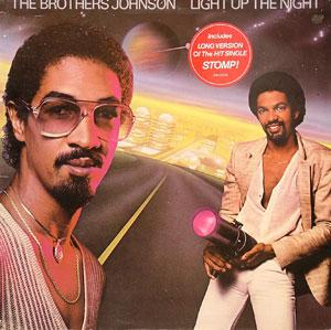 Album  Cover The Brothers Johnson - Light Up The Night on A&M Records from 1980