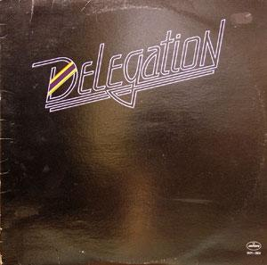 Album  Cover Delegation - Delegation (another Eau De Vie Release) on MERCURY Records from 1980