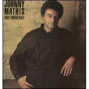 Album  Cover Johnny Mathis - Right From The Heart on COLUMBIA (CBS) Records from 1985