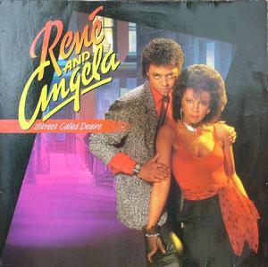 Front Cover Album René And Angela - Street Called Desire  | mercury records | 422-824 607-1 M-1 | US