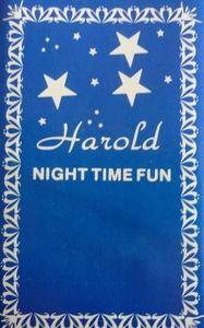 Album  Cover Harold - Night Time Fun on JE-HAR Records from 1987