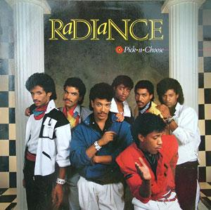 Album  Cover Radiance - Pick-n-choose on QWEST Records from 1985