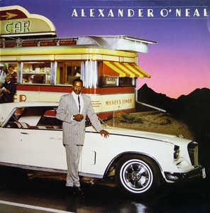 Album  Cover Alexander O' Neal - Alexander O'neal on TABU Records from 1985