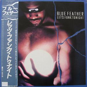 Front Cover Album Blue Feather - Let's Funk Tonight