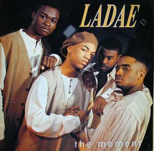 Album  Cover Ladae - The Moment on POLYGRAM Records from 1994