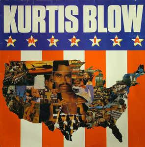 Album  Cover Kurtis Blow - America on MERCURY Records from 1985