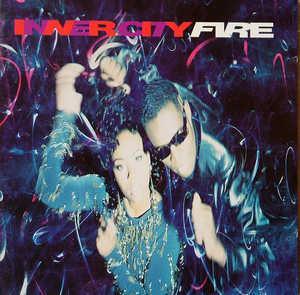 Album  Cover Inner City - Fire on ATLANTIC Records from 1990