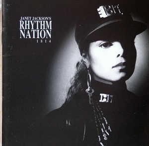 Album  Cover Janet Jackson - Rhythm Nation 1814 on A&M Records from 1989