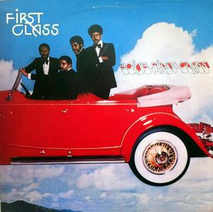 Front Cover Album First Class - GOING FIRST CLASS