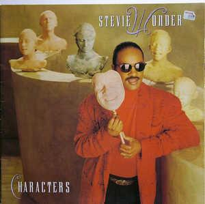 Album  Cover Stevie Wonder - Characters on MOTOWN Records from 1987