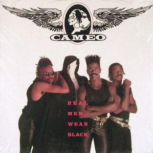 Album  Cover Cameo - Real Men Wear Black on ATLANTA ARTISTS Records from 1990