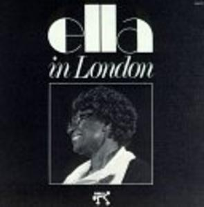 Album  Cover Ella Fitzgerald - Ella In London on PABLO / OJC Records from 1974