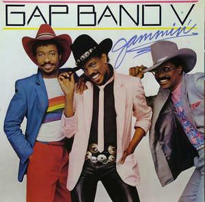 Album  Cover The Gap Band - The Gap Band V Jammin' on TOTAL EXPERIENCE Records from 1984
