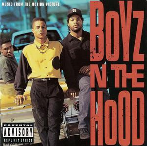 Album  Cover Various Artists - Boyz N The Hood (original Motion Picture Soundtrack) on ZOMBA Records from 1990