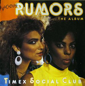 Album  Cover Timex Social Club - Vicious Rumors on MERCURY Records from 1986