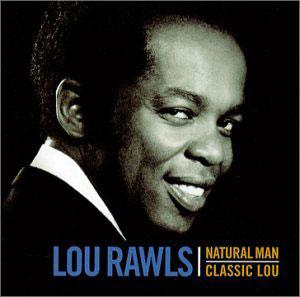Album  Cover Lou Rawls - Natural Man on MGM Records from 1971