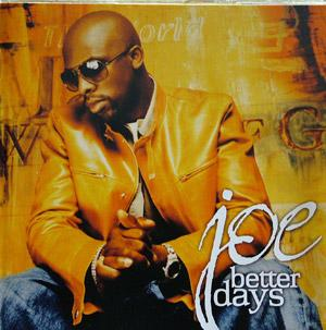 Album  Cover Joe - Better Days on JIVE Records from 2001