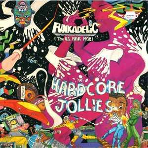 Album  Cover Funkadelic - Hardcore Jollies on PRIORITY Records from 1976