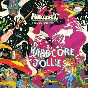 Album  Cover Funkadelic - Hardcore Jollies on PRIORITY Records from 1976