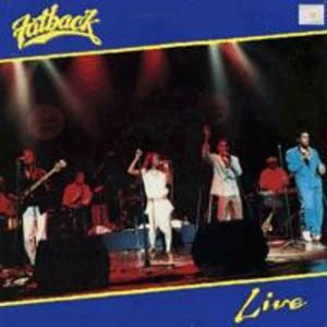 Album  Cover Fatback - Live on START Records from 1987