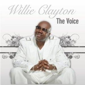 Front Cover Album Willie Clayton - The Voice