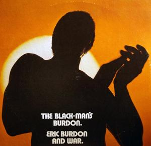 Album  Cover Eric Burdon - The Black-man's Burdon on MGM Records from 1970
