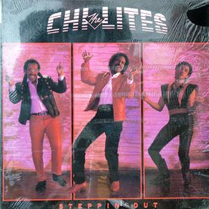 Album  Cover The Chi-lites - Steppin' Out on PRIVATE EYE Records from 1984