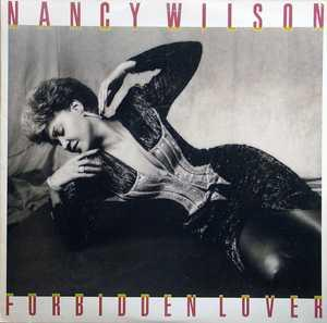 Album  Cover Nancy Wilson - Forbidden Lover on COLUMBIA Records from 1987