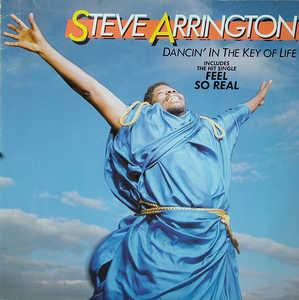 Album  Cover Steve Arrington - Dancin' In The Key Of Life on ATLANTIC Records from 1985