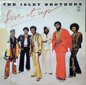 Front Cover Album The Isley Brothers - Live It Up