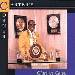 Album  Cover Clarence Carter - Carter's Corner on CEE GEE Records from 1996