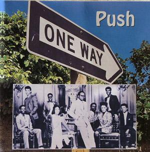 Album  Cover One Way - Push on MCA Records from 1995