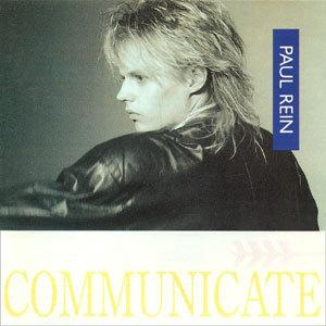 Album  Cover Paul Rein - Communicate on AMPHA Records from 1986