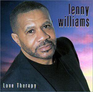Front Cover Album Lenny Williams - Therapy