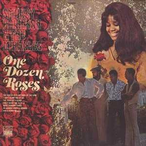 Album  Cover The Miracles - One Dozen Roses on TAMLA Records from 1971