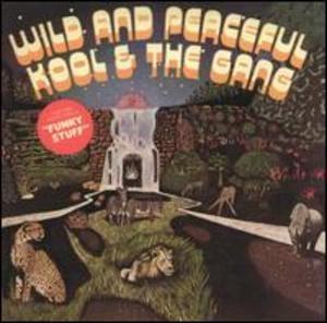 Front Cover Album Kool & The Gang - Wild And Peaceful
