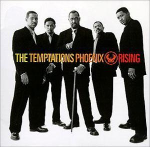 Album  Cover The Temptations - Phoenix Rising on MOTOWN Records from 1998