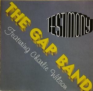 Album  Cover The Gap Band - Testimony on LALIQUE Records from 1994