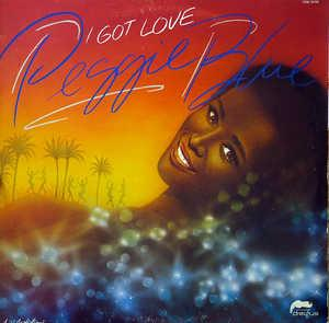 Album  Cover Peggi Blu - I Got Love on MCA Records from 1980