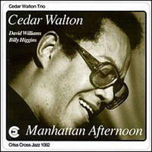 Album  Cover Cedar Walton - Manhattan Afternoon on CRISS CROSS Records from 1992
