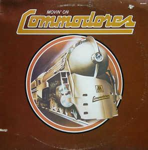 Front Cover Album Commodores - Movin' On