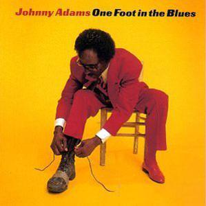Album  Cover Johnny Adams - One Foot In The Blues on ROUNDER Records from 1997