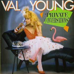 Album  Cover Val Young - Private Conversations on AMHERST Records from 1987