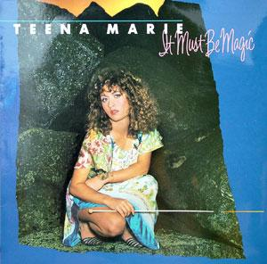 Front Cover Album Teena Marie - It Must Be Magic