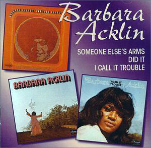 Album  Cover Barbara Acklin - I Call It Trouble on BRUNSWICK Records from 1973